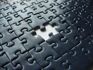 puzzelen ontbrekende informatie